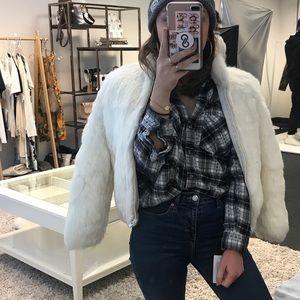 Jackets & Blazers - Rabbit Fur Jacket